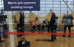 Где в аэропорту Внуково можно покурить? Особенности для обычных сигарет и IQOS